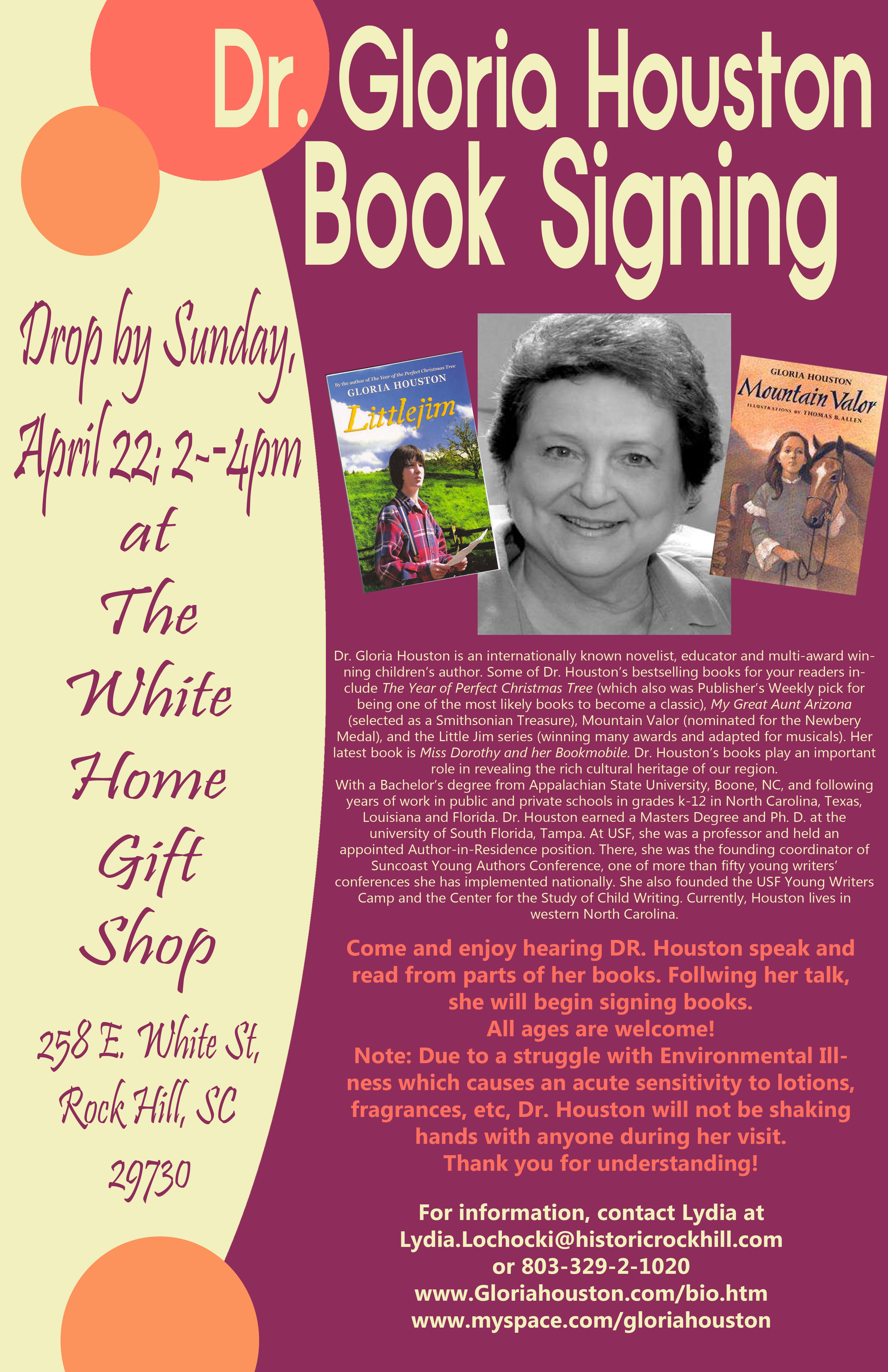 Book Signing Poster | ACunningham24